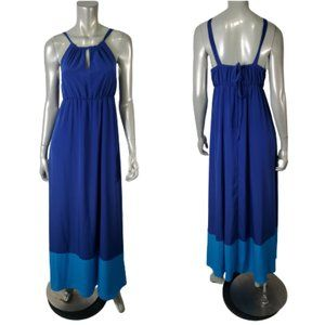 Old Navy Blue Maxi Dress Size M NWT